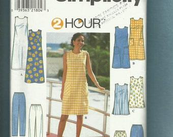 Simplicity 8207  Summer Time Wardrobe Pattern Sizes 6..8..10 UNCUT
