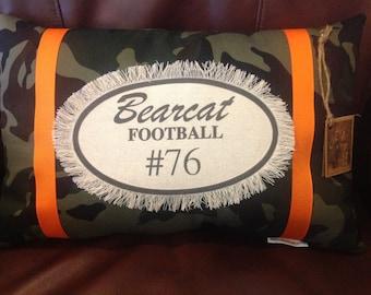 Aledo Bearcats Personalized (Texas) Decorative Pillow
