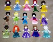 Disney Princess Hair Clip- You Pick 1