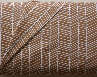 Herringbone in Maple by Joel Dewberry from the Modern Meadow Collection - Westminster Fabrics - ONE  FAT QUARTER  Cut
