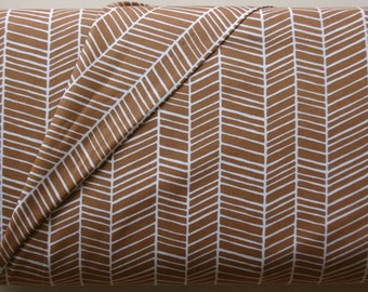 Herringbone in Maple by Joel Dewberry from the Modern Meadow Collection - Westminster Fabrics - ONE HALF YARD Cut