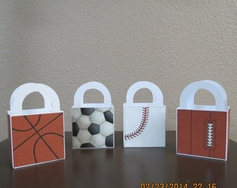 3x3 Sports Favor Bags (Set of 12)