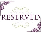 Reserved for Char L.