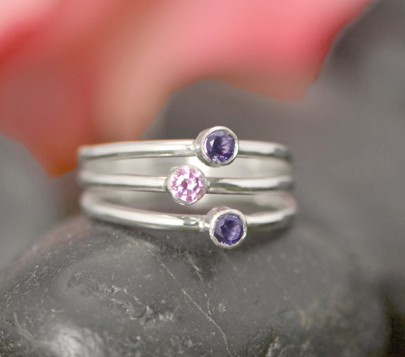 Mother S Ring Birthstone Ring Family Ring By