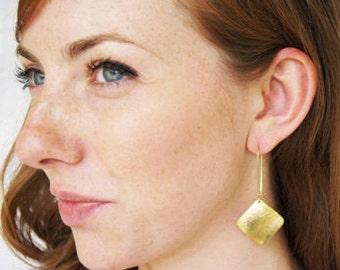 Dangle Gold Earrings
