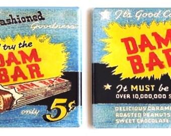 Dam Candy Bar Fridge Magnet Set