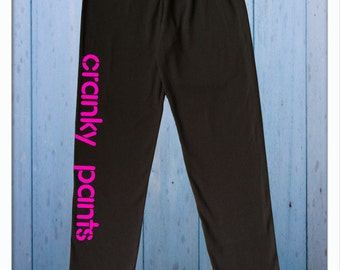 Cranky Pants - Youth Leggings  8Y, 10Y, 12Y
