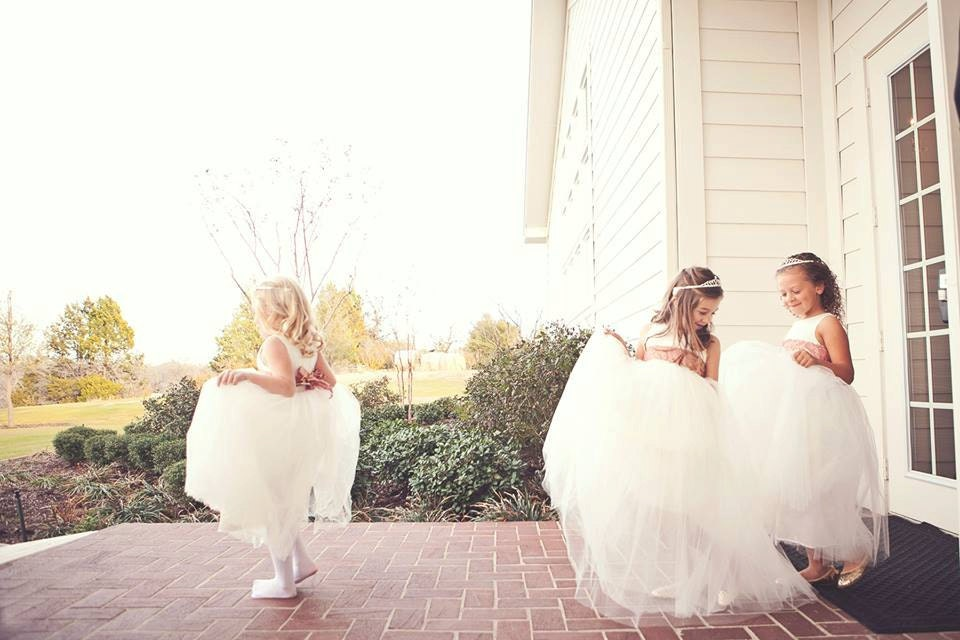 Flower Girl Dress: The Ballerina Dress. Romantic tutu skirt.