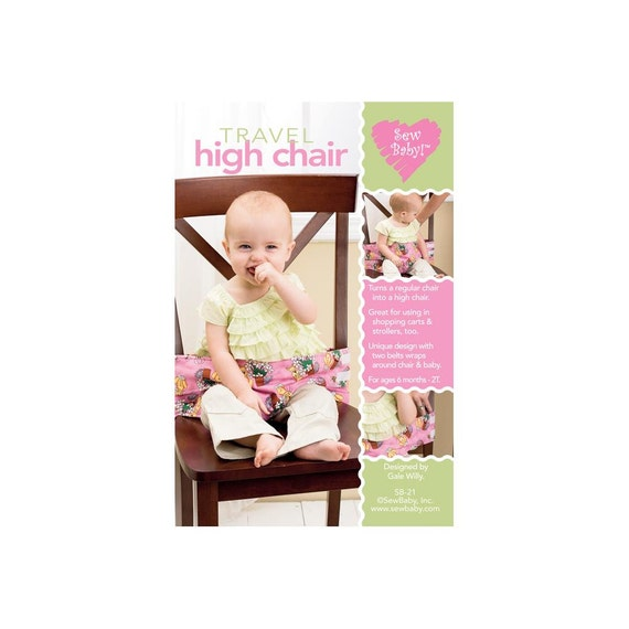 baby pattern travel high chair pattern sew baby craft. Black Bedroom Furniture Sets. Home Design Ideas