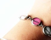 Personalized Charm Bracelet Linked