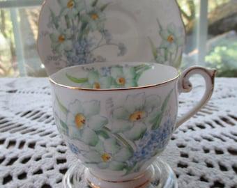 Vintage Bell Fine Bone China Tea Cup & Saucer