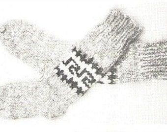 Cowichan White Buffalo Wool Sock Knitting Pattern Instant Download on Etsy