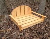 Doggie Adirondack Chair/PetBed