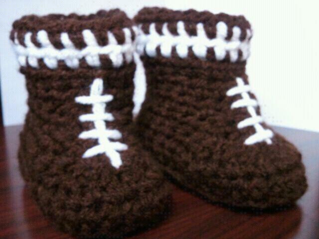 Football Beanie Amp Boots Crochet Pattern Football Baby