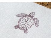 Loggerhead Turtle Personalized Notepad - Turtle Notepad - Sea Turtle - Little Turtle Notepad - Notepad - Personalzed Notepad