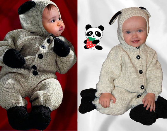 9-12 months. SHEEP OVERALL BABY Costume.Cardigan Coveralls. Cashmere Blend Yarn. Ready to ship.