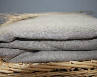 Gray Grey Fitted Bed Linen Sheet  Eco friendly - Custom size