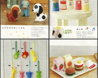 Soft Toys Patterns, Baby Soft Toy, Felt Toys PDF, Kawaii Ebook, Free Shipping No.37