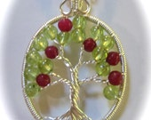 Apple Tree of Life, August Birthstone Tree of Life, August Birthstone