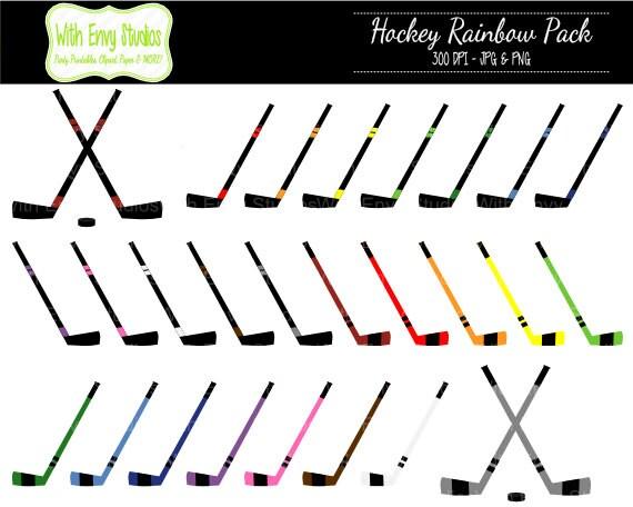 50% OFF Hockey Clipart Hockey Stick Clipart Sports