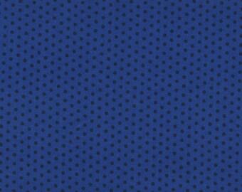 Polka Dots, Spot On by Robert Kaufman, Blue Polka Dot Fabric, Dot Fabric, 03007
