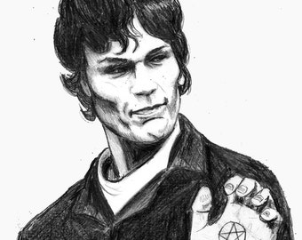 Richard Ramirez print 8x10 the Night Stalker