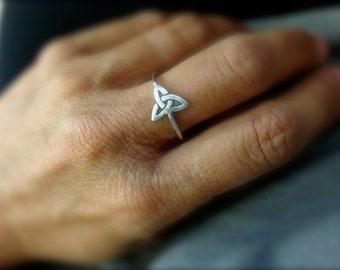 Celtic symbol sterling  silver  ring