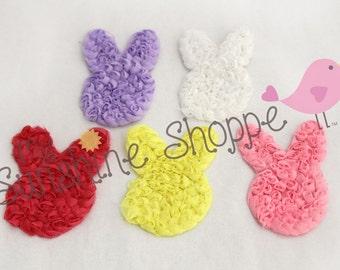 Shabby Bunnies, Easter Bunnies - set of 6