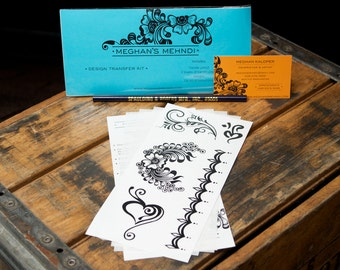 Henna Tattoo Design Transfer Kit