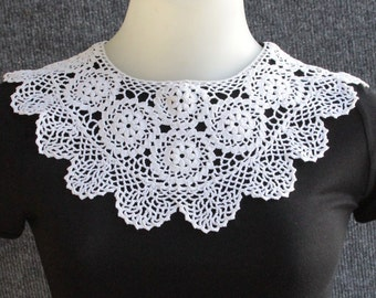 Vintage Lace Collar Peking Handicrafts Inc 100% Cotton Made in China