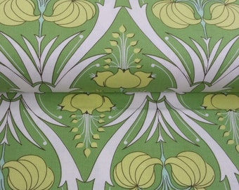 Passion Lily fabric in Fern by Amy Butler