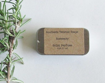 Rosemary Solid Perfume