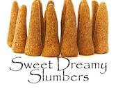 Sweet Dreamy Slumbers, Artisan Hand Made Incense Cones