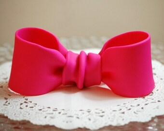 Custom Made 3D Fondant Bow