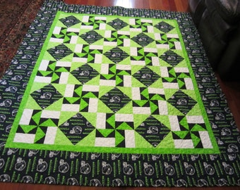 Seattle Seahawks Quilt Made to Order