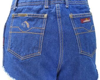 High Waste Shorts 70s Shorts High Waist Shorts High Waist Denim Shorts High Waist Jean Shorts High Waste Shorts Frayed Shorts Blue Jean