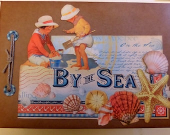 By the Sea Vintage Style Photo Album