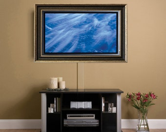 "Custom Frame for 32"" Flat Screen TV or Custom Size Available Upon Request"