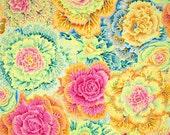 Kaffe Fassett - Brassica Yellow  - FQ Fat Quarter cotton quilt fabric 415