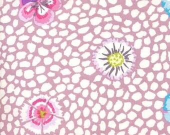 Kaffe Fassett - Guinea Flower Mauve  - FQ Fat Quarter cotton quilt fabric 516