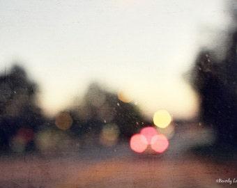 bokeh, blur, lights, fine art photography