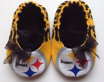 Pittsburgh Steelers Baby Maryjane Booties