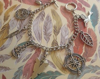 Pocahontas Charm Bracelet