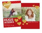INSTANT DOWNLOAD -  Valentine Photoshop Template - E986