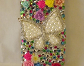 Custom Bling Rhinestone Cell Phone Cover Case