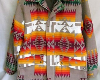 Pendleton chief Joseph pattern coat Thinsulate thermal coat NEW CONDITION