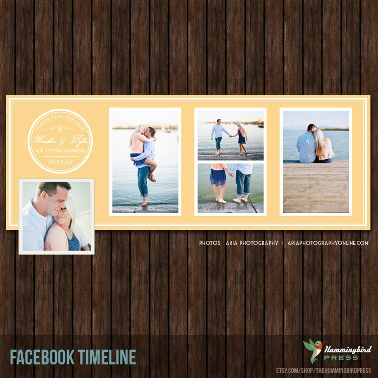 Save The Date Facebook Timeline Cover FB17