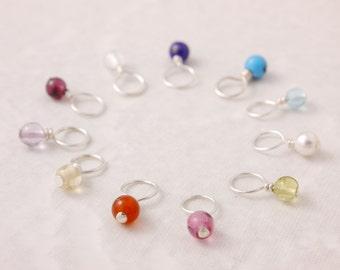 Add On Charm, birthstone charm, mini birthstone, birthstone necklace, birthstone bracelet, add on birthstone, add birthstone, AD