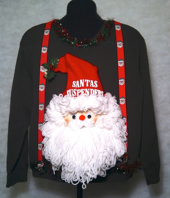 Are you a bigger guy looking for an ugly Christmas sweater?