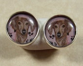 Dachshund Stud Earrings